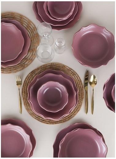 Keramika Yemek Takımı Mor